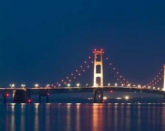 Mackinac Bridge, Michigan, Fine Art Photography