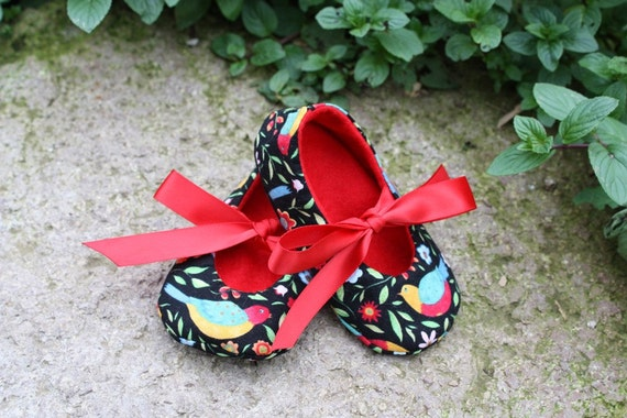 A Little Birdie Told Me -- Baby and Toddler Shoes