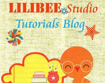 Lilibeestudio scrapbooking tutorials blog subscription