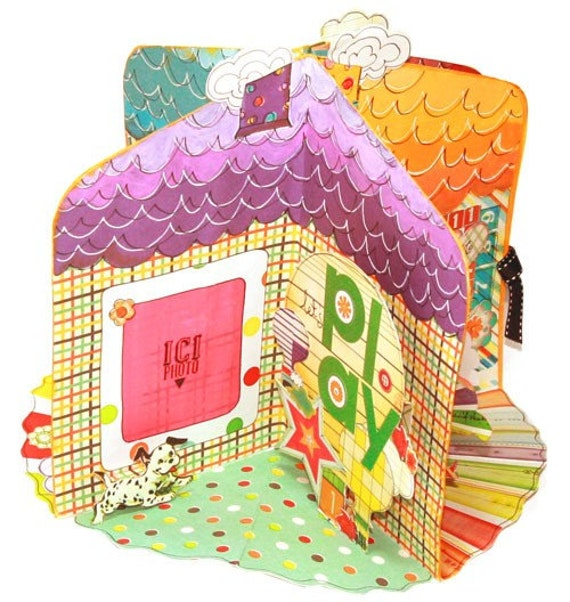 My Little House pop up book Class