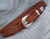 Western Ranger Belt w/ Name on Back