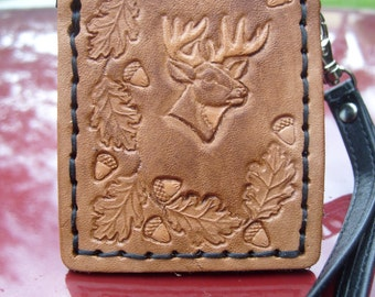 Ipod Nano Case with Leather Western Art Cover