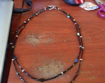 double stranded necklace