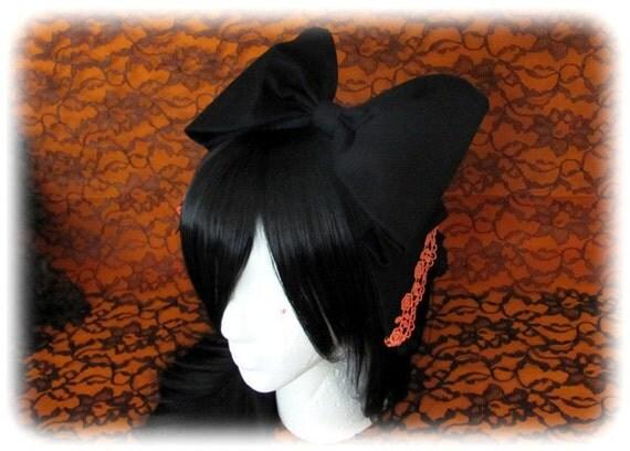 SALE Large Halloween Lolita Bow