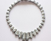 Vintage Chunky Sterling Silver Necklace Exotic Statement Jewelry