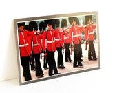 Vintage Foto Bank No 464 Postcard British Royal Guard