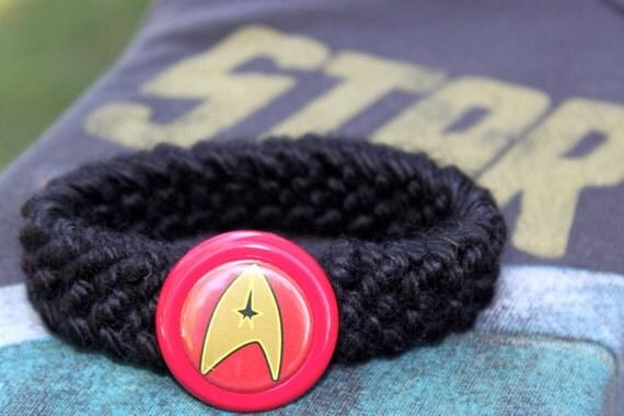 Starfleet Trekkie Kitty Collar- Red
