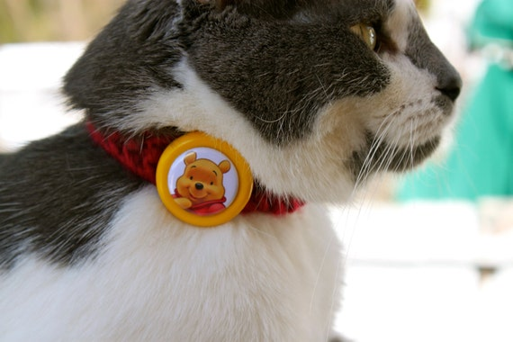 Winnie the Pooh Kitty Cat Collar