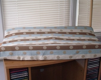 Custom Made Countoured Changing Pad Cover