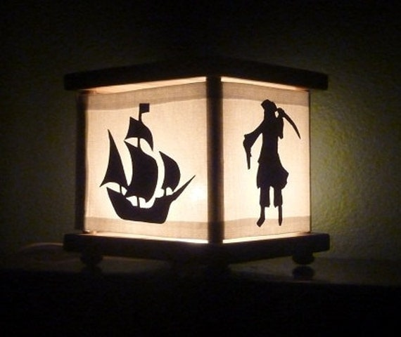 Pirate Lamp Pirate Nightlight Lantern Night Light Boys Gift