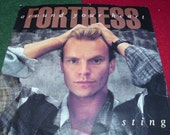 STING  Fortress around your heart 1985  45 rpm Vintage Single from the Album the dream of the blue turtle