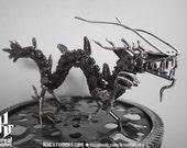 Metal Asian Dragon (small item)