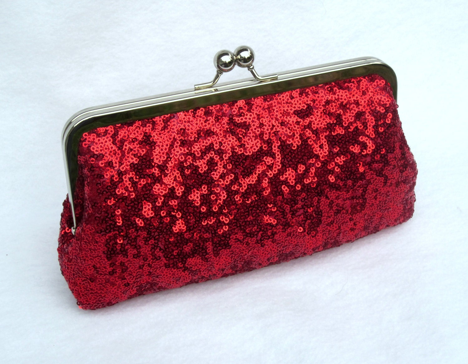 Sequin Clutch Prom Clutch Formal Purse Sequins Red By ItsSoClutch