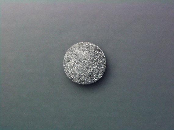 Silver Drusy Cabochon