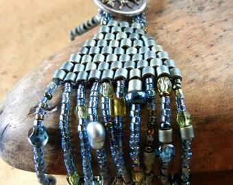 Beaded Bracelet, Turquoise