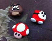 Super Mario Bros - Set of 3 Magnets