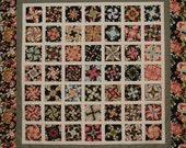 Quilt of Fractured Flowers