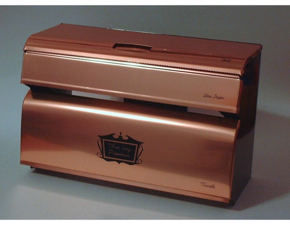 Vintage Copper Triple Roll Dispenser by West Bend - Never Used