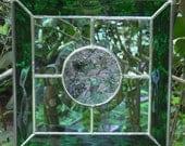 Stained Glass Bevelled Suncatcher