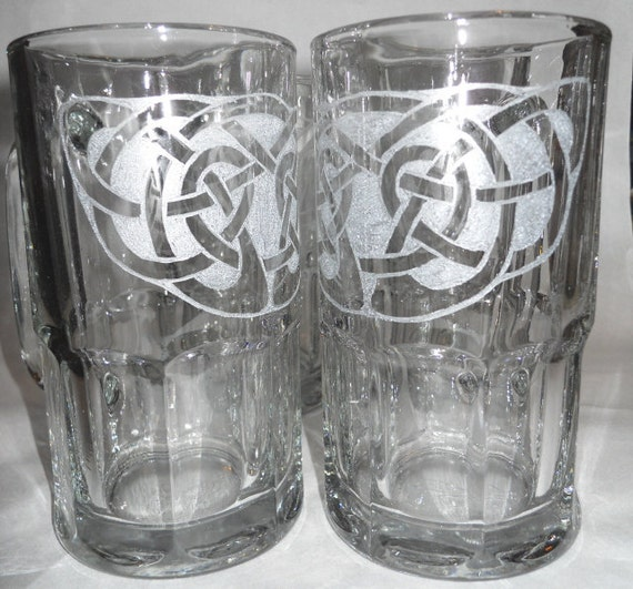 Celtic Knot Beer Mug
