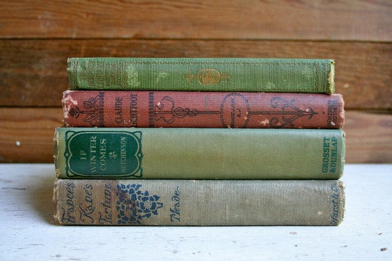 Collection of Four Primitive Books