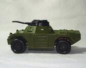Army Tank, Matchbox miniature vehicle, metal and plastic, vintage