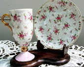 China Tea Cup with Saucer and Stand