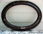 Large Antique Oval Frame