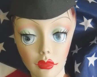 1940s Hat WAC WWII Womens Air Corp Uniform Boogie Woogie Bugle MINT in Package