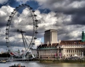 The London Eye 16x12 Original Fine Art Photographic Print