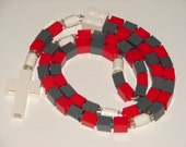 The Original Catholic Lego Rosary - Red and Gray Christmas Gift