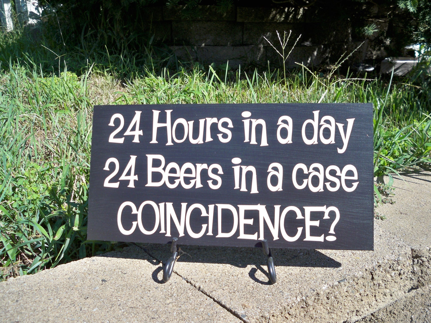 Classic Man Cave Quotes : Beer sign bar man cave hours in a day by