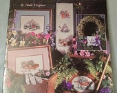 Paula Vaughans Because of Spring Book 44 cross stitch leaflet