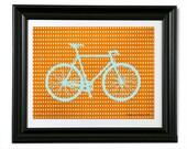 La Bicicletta - 8 x 10  Art Print