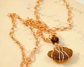Irish Sea Glass Necklace