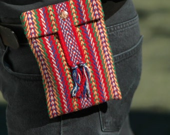 Metis Arrow Sash Penny Pouch with Belt Loop