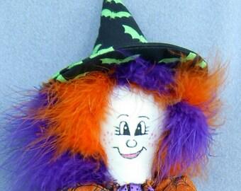 Halloween Witch Happy Halloween Pasha PinHead(TM)