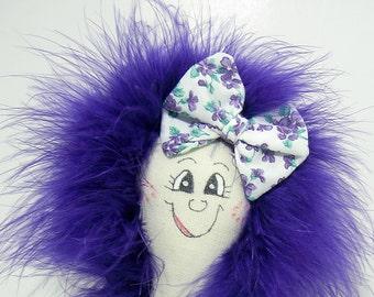 You Make Me Smile Doll - Petunia PinHead Happy Face(TM)