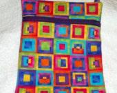 Handmade Colorful Geometric Sling Bag, Cross Body Bag, Hipster Bag, Travel Bag