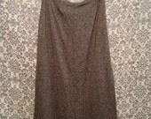 Cozy Chic Heather Grey Winter Maxi Skirt