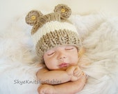 My Little Bear Baby Hat Beautiful Photography Prop More Color Choices Available
