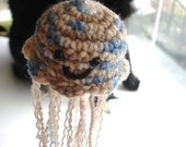 Jellyfish Plush Keychain
