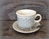 Vintage Mug and Saucer