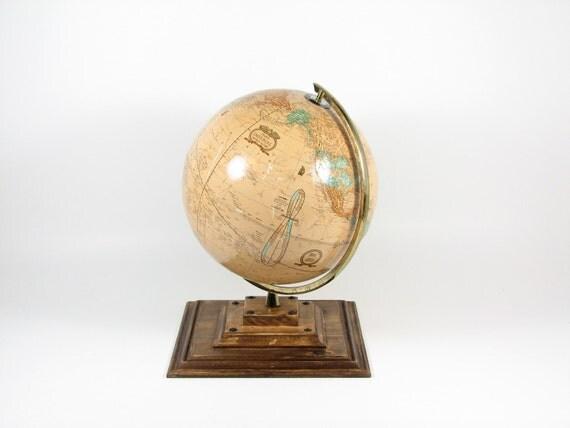 World Globe Tan Cram's Imperial