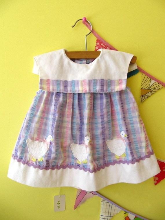 Little Goose Vintage Baby Dress