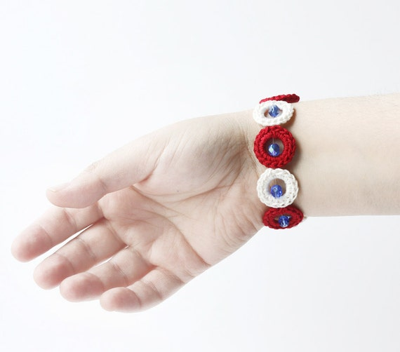 Bubble jewelry Nautical bracelet