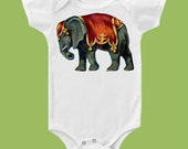 Greatest Show on Earth, Vintage Circus, Circus Elephant T-Shirt, One Piece Baby Bodysuit, Circus Birthday by ChiTownBoutique.etsy