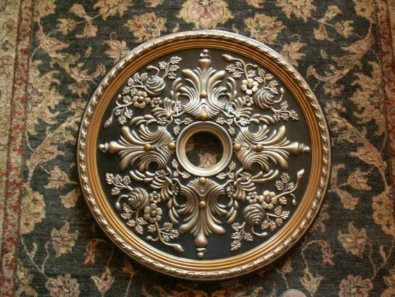 28 Inch Fan Chandlier Ceiling Medallion