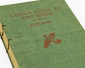 1947 BIRD WATCHING Vintage Field Guide Notebook Journal