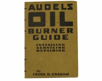 1955 OIL BURNER Vintage Book Journal